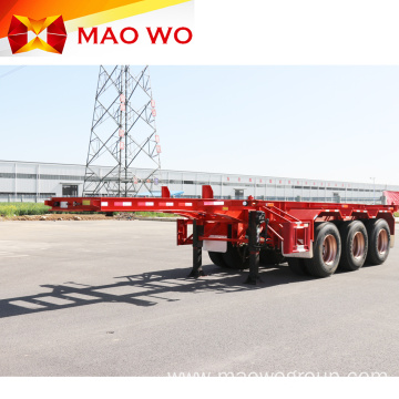 Great 20 Ton 40ft Skeleton Container Semi Trailer